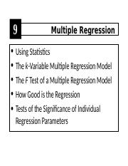 Chapter 09 - Regression Analysis.ppt