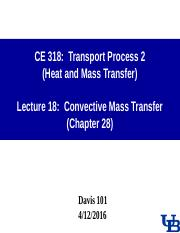 0416 Lecture-18 Convective Mass Transfer.ppt