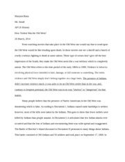 dbq essay format