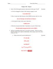 Finance 350 - Exam 3 with answers.docx
