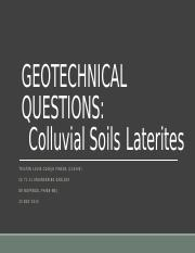 CE 71.31 - Geologic environments
