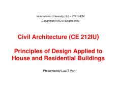 16-Civil Architecture-Principles of design applied to house and residential buildings 25-4-2015 [Com