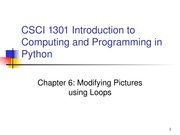 CSCI1301Chapter06
