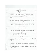 2-1 Integers and the # Line Notes