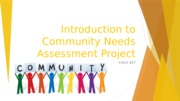 CHLH 457 Community Needs Assessment Intro