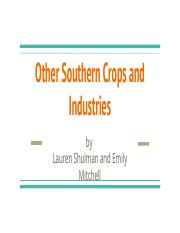 Other Crops and Industries.pptx