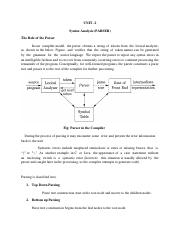 Automata and Compiler Design Lecture Notes-on UNIT 2.pdf