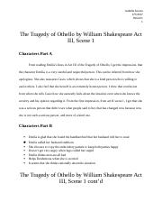 The Tragedy of Othello Project