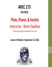 Lecture 4 Module 1 -- Introduction Sept 13 2016