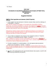 CRP 3210_Mid-term Exam_Fall2014_Suggested Solutions
