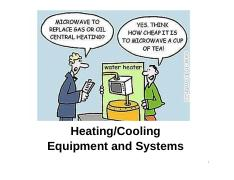4_Heating Cooling Equipment and Systems