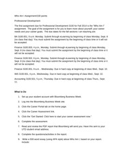 final informational interview essay informational interview  2 pages who am i assignment