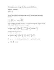 Elliptic pressure distribution, wing force and moment 02 (1)