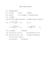 Chapter 5 Problems and Answers - 6th Ed.(1)