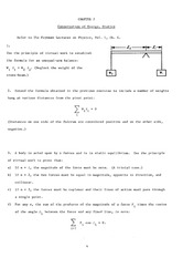 Exercises Ch 02 Conservation of Energy (Statics)