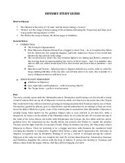 Telemachus the odyssey essay