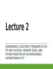 Lecture 2 revised