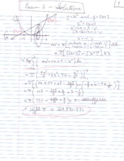 Exam 2 Solutions Sp10