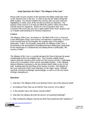 Study-Questions-for-Platos-Allegory-of-the-Cave-FINAL