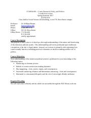 CCJ 6934 001 Hauser Courts Syllabus Spring 2017.docx