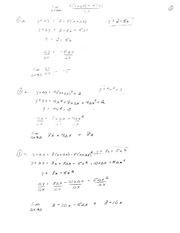 Calculus for Engineering Tech 1 Final Exam Review solutions