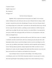GWENEVERE POYNTER - Essay 1- Personal Reflective.docx