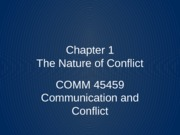 COMM 45459 Chapter 1