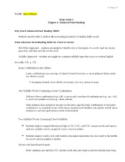study guide 5_chapter 4