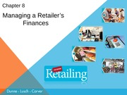 Chapter 8 ppts Retailing Dunne