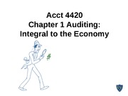 Acct 4420 Chapter 1 9th edition