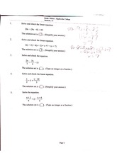 mat110 test 1 review