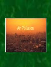 Air Pollution-Module-2.ppt