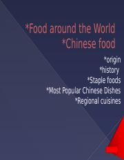 Food around the World.pptx