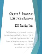 Chapter%2B06+PowerPoint+-+Income+or+Loss+from+a+Business+-+2015