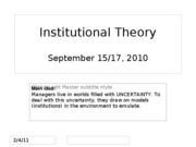 Day+08-09+Institutionalist+theory+15-17+Sep+2010