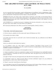 THE AIR (PREVENTION AND CONTROL OF POLLUTION) ACT, 1981.pdf
