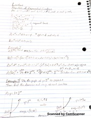 MATH 107 Properties Of Exponential Functions And Compound Interest Notes