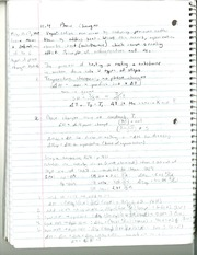 CHM 142 Phase Changes Notes