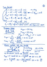 Two Forces notes and problems