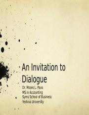 1a class 1-an_invitation_to_dialogue