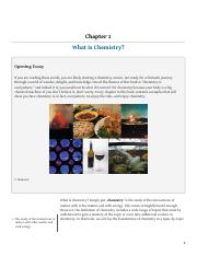 Chapter1_What is Chemistry