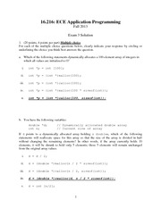 Exam 3 Solution Fall 2013