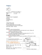 Chapter 5 - Chemistry Notes