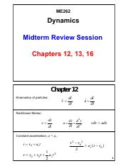 Midterm Review Session_Chapters 12, 13 and 16_V01