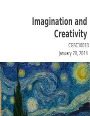 Lecture 8- Imagination and Creativity.pptx
