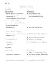 1301DL_Exam 1 Study Guide_16wk (1)
