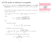 350lect32 - TM modes in dielectric slab waveguides