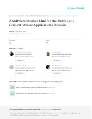 A_Software_Product_Line_for_the_Mobile_and_Context