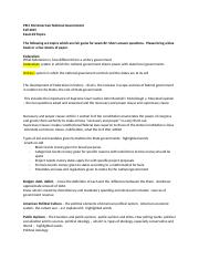 PSCI 102 American National Government Spring 2016 Exam #2 review sheet.docx