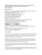 ART HISTORY 120BB_Master Study Guide